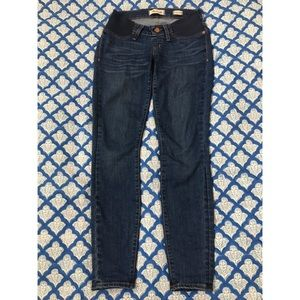 Madewell maternity jeans in Juliet wash 26 EUC